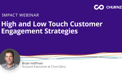 High Touch and Low Touch Customer Engagement Strategies